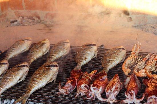 Podstrana, Croatia: Grilled fish menu