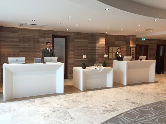 Staverton, UK: Our Newly Refurbished Reception area