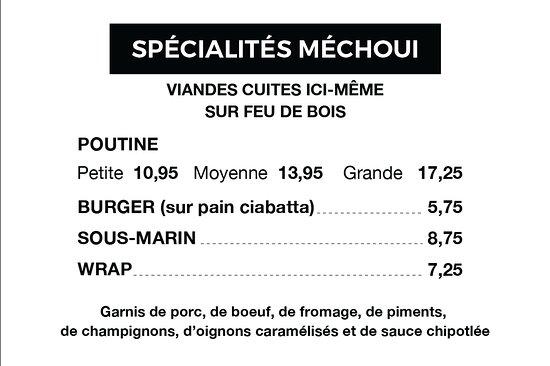 Shawinigan, Καναδάς: UNIQUE DANS LA RÉGION.  Bon appétit !!