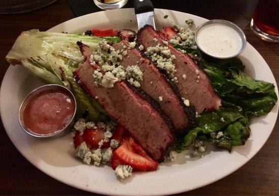 Chelsea, MI: Romaine Brisket salad