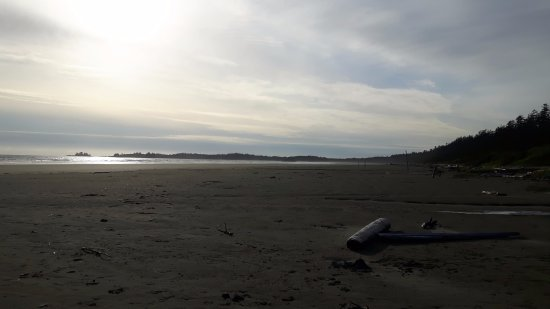 Green Point Campground: Evening on the beach