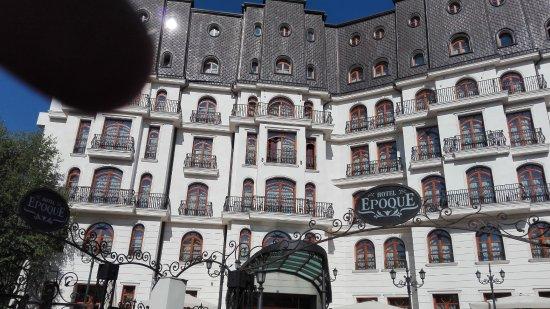 View to the back bild von epoque hotel bukarest for Epoque hotel