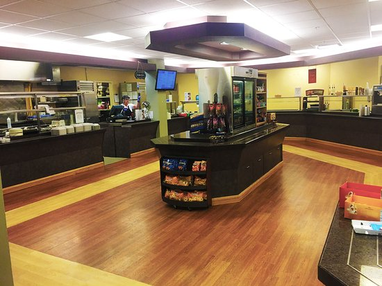 Rexburg, ID: Paragon Cafe inside