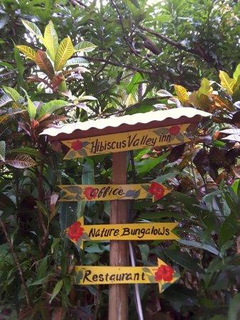 Marigot, Δομίνικα: Quite signboard