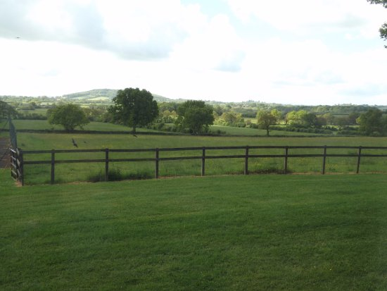 Shaftesbury, UK: view from the courtyard rooms