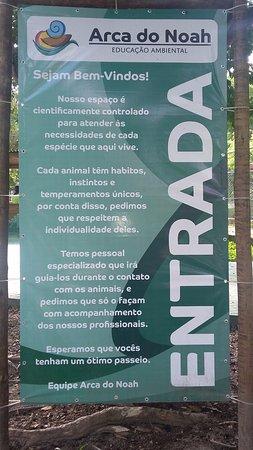 Guaratiba, RJ: Boas vindas e orientações