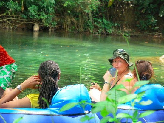 Marigot, Dominica: River tubing from Hibiscus Valley