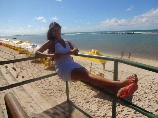 Barra de São Miguel, AL: Sombra e agua fresca