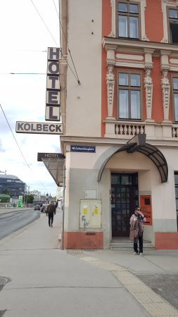 Hotel Kolbeck: Main gate