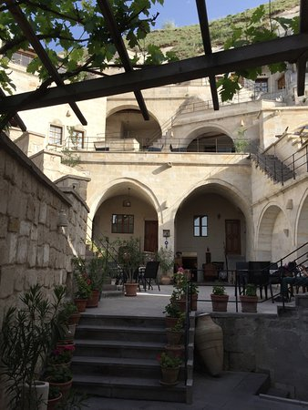 Vezir Cave Suites: Otel girişi