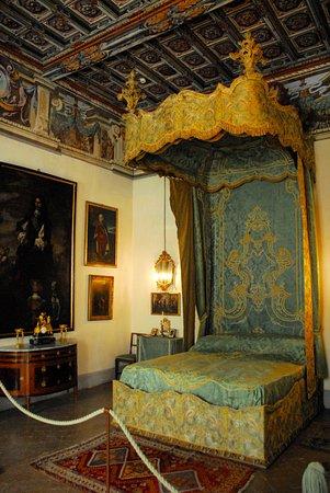 Казальцигно, Италия: Una stanza da letto