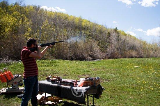 Wasatch Adventure Guides: Skeet shooting