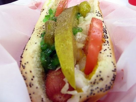 Freeport, IL: Classic Chicago Style Dog