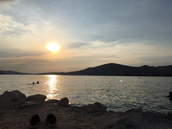 Okrug Gornji, Kroasia: Sunset view