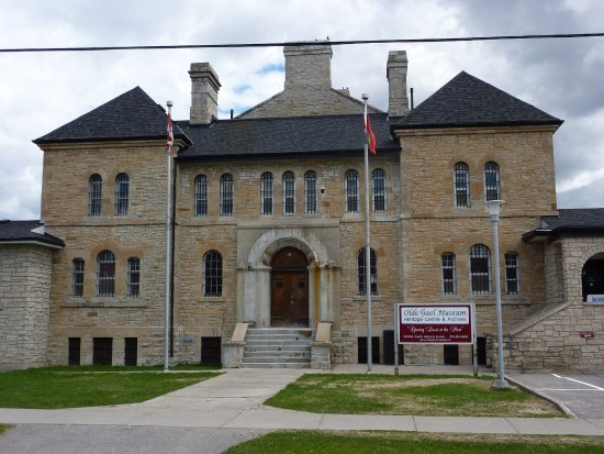 Lindsay, Kanada: An old jail museum or a museum inside an old jail...you decide.