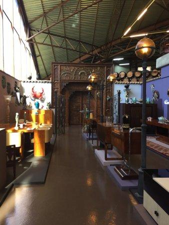 Vila Nogueira de Azeitao, Portugal: Porta de saída do museu