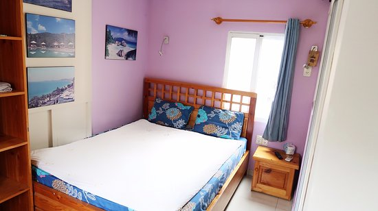 Royal Saigon Guesthouse : Standard Double Room (12sqm) with TV, Aircon, Refrigerator, Window, Safe & Shower Amenities. (Qu