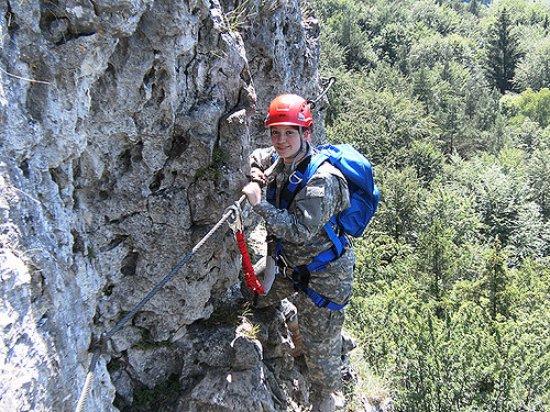 Heiligenblut, Autriche : Klettersteig