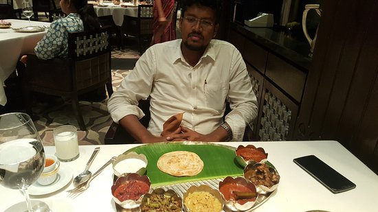 Southern Spice: A non veg Thali comprising everything hat you need