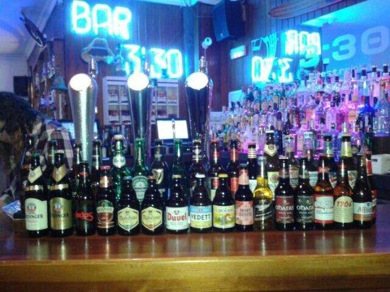 Punta Umbria, España: La mayor variedad de cervezas de Punta Umbría