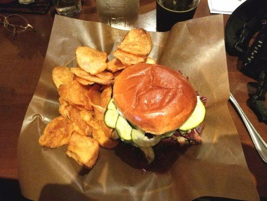 Hudson, NY: Brisket Sandwich