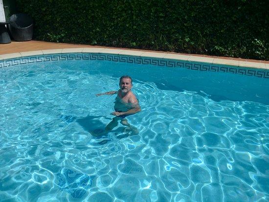 Casa Pairal: piscine chauffée