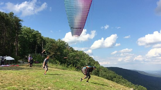 Dunlap, TN: Launching my first solo at Whitwell