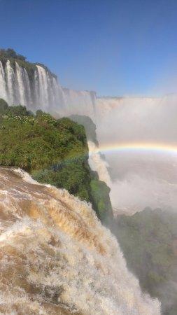 Cataratas del Iguazú: Rainbow view