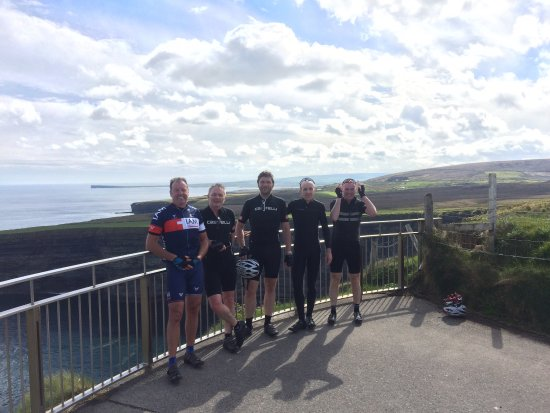 Pontoon, Ireland: Great spin up to the Ceide Fields passing Downpatrick Head and a great climb over the Nephin ran