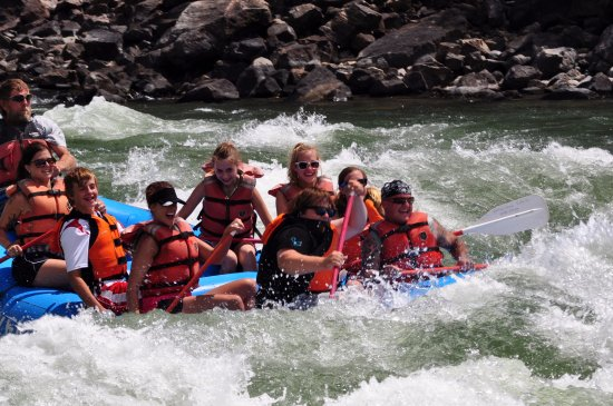 Gardiner, MT: July in Yankee Jim Canyon on Full day raft trip with YRC!