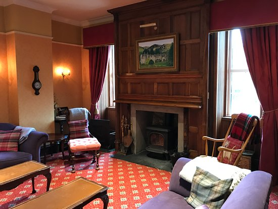 Spittal of Glenshee, UK: Lounge