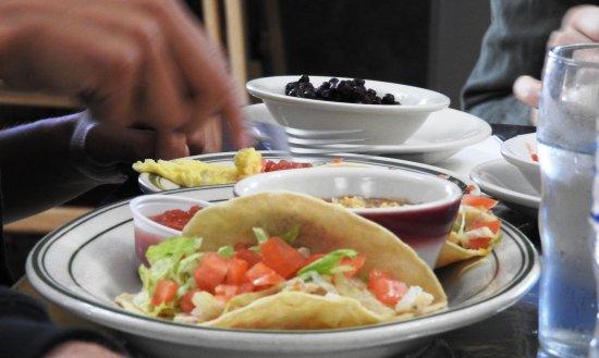 Graeagle, Californien: Breakfast tacos