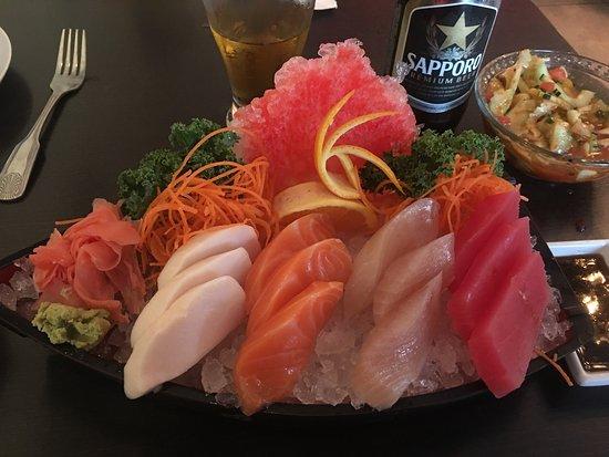 Indialantic, FL: Incredible sashimi!
