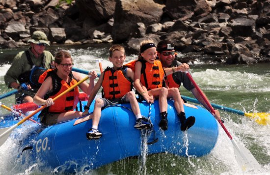 Gardiner, MT: Family fun for everyone! Ride the bull or paddle along!