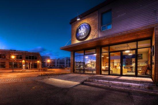 Baie Comeau, Canadá: Manufacture de savon Borale au coeur du centre-ville de Baie-Comeau