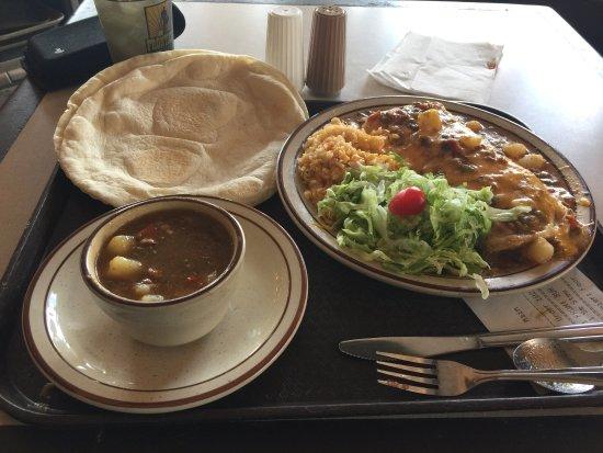 Beef burrito picture of frontier restaurant albuquerque for Albuquerque cuisine