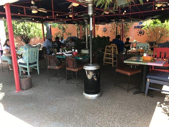 Keller, TX: Patio seating