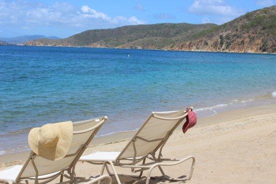 Peter Island Resort and Spa: Deadman's Beach (The main beach) - so private