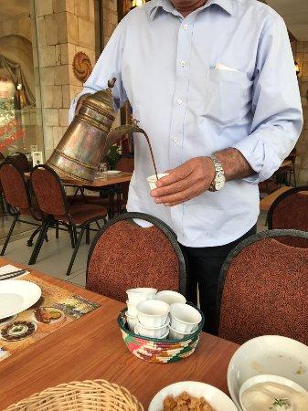 מסעדת אלחיר: The druso coffee