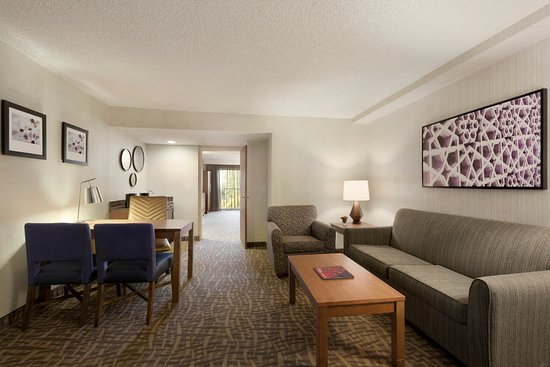 Relax In Your Private Living Room Picture Of Embassy Suites By