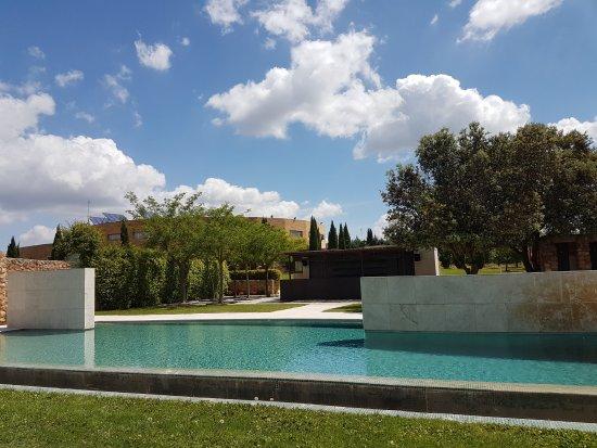 Piscina con bar fotograf a de hotel pago del vicario for Hoteles en bilbao con piscina