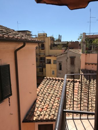 Hotel Due Torri: from the patio