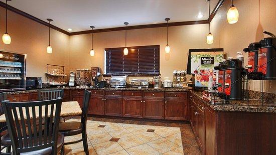 Athens, Teksas: Breakfast Area