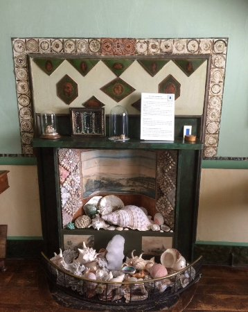 Fireplace Border Made From Feathers Picture Of A La Ronde Exmouth