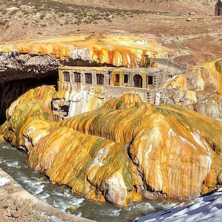 Las Cuevas, Argentina: Puente del Inca
