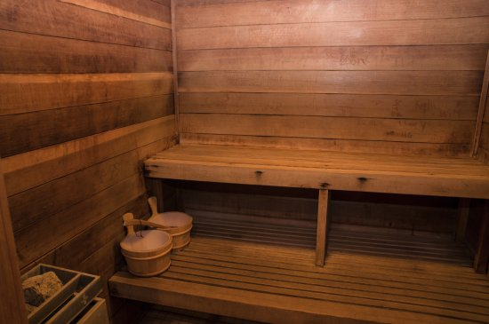 Ocean Shores, WA: Indoor Cedar Sauna