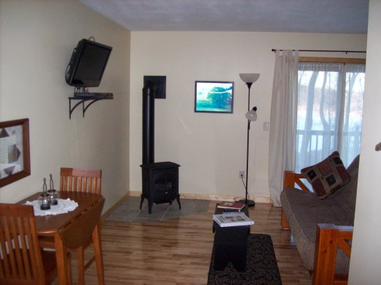 Pequot Lakes, MN: TV/Microwave, Mini Fridge, Private Deck