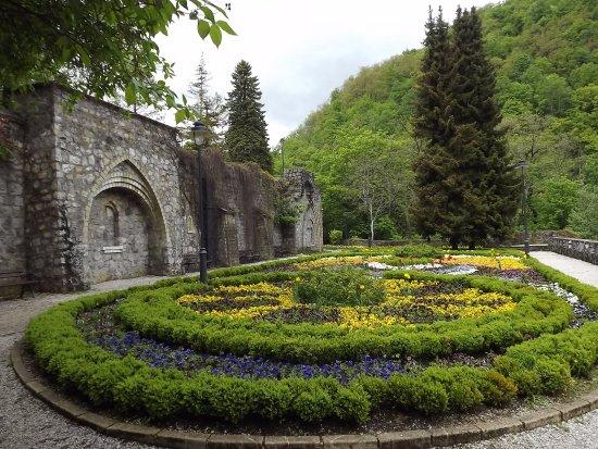 Lillafured, Hungary: A kert