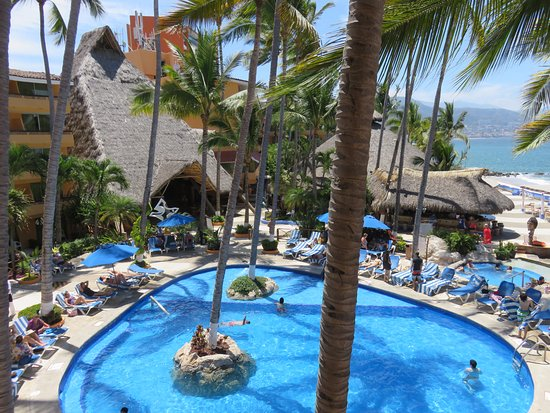 Adult Pool Old Town Puerto Vallarta In The Distance Picture Of