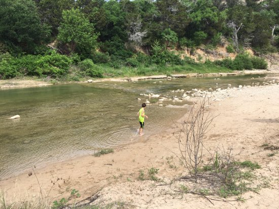 Dinosaur Valley State Park: the streams were great. Just bring water shoes because those rocks hurt after awhile